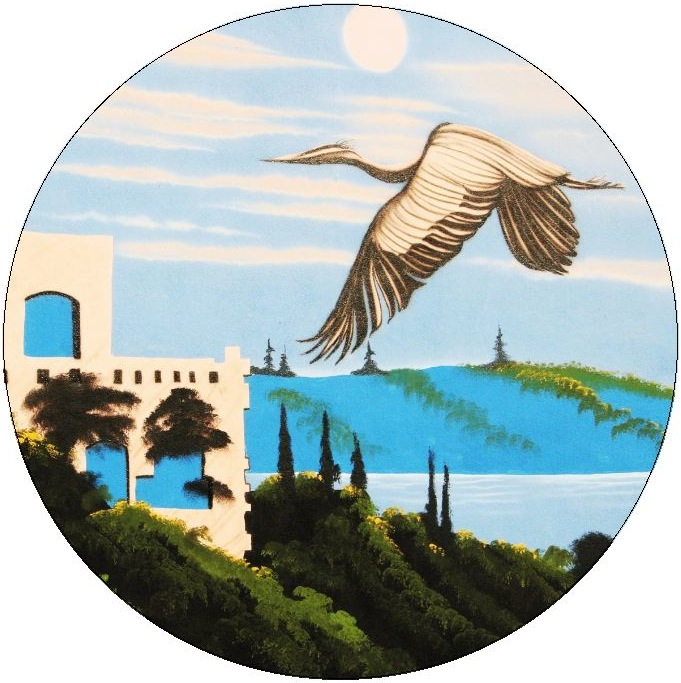 Stork Pinback Buttons and Stickers