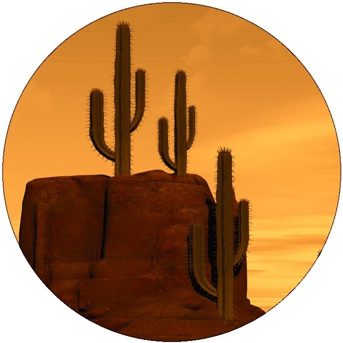 Cactus Pinback Buttons and Stickers