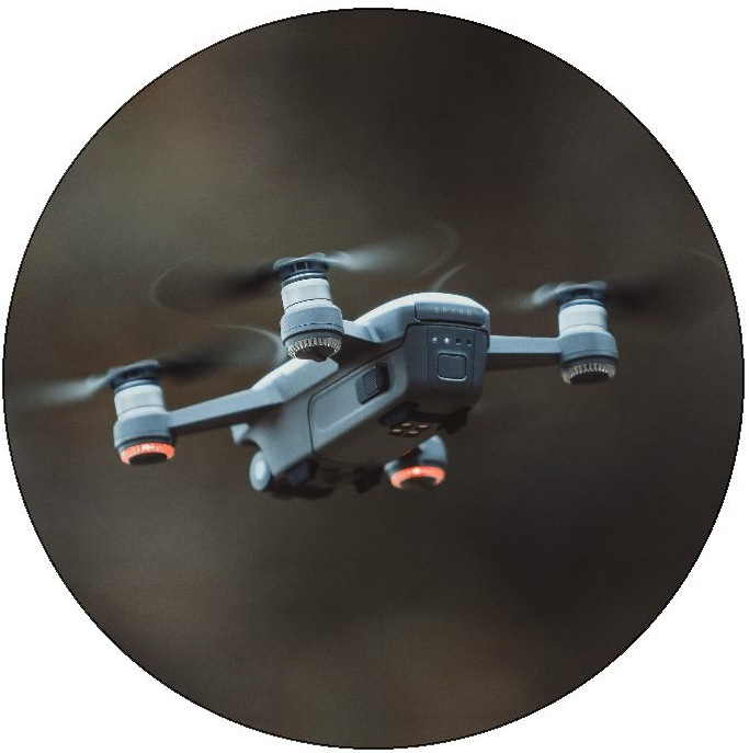 Drone Pinback Buttons and Stickers