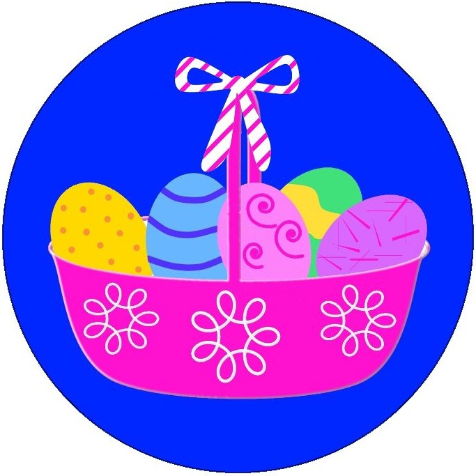 Easter Pinback Buttons and Stickers