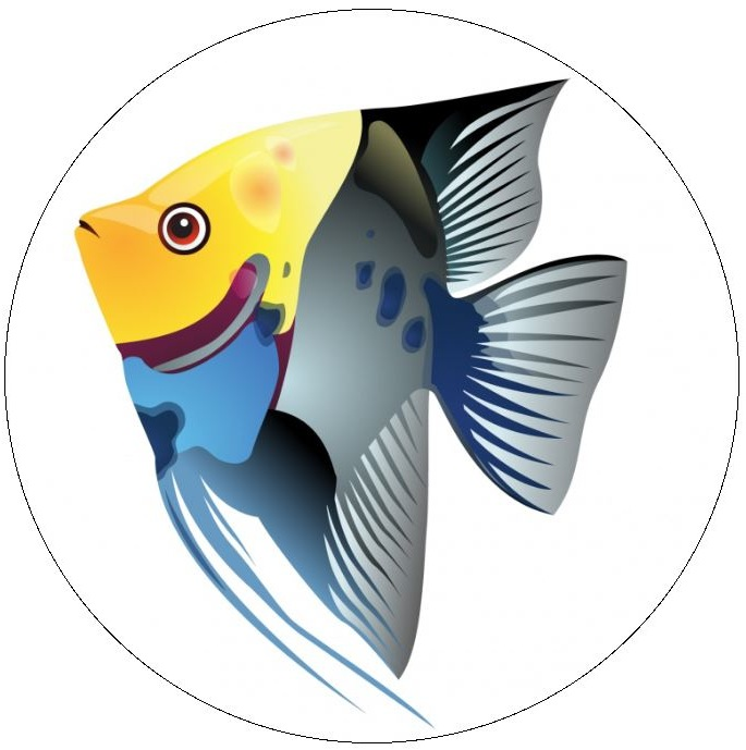 Fish Pinback Buttons and Stickers