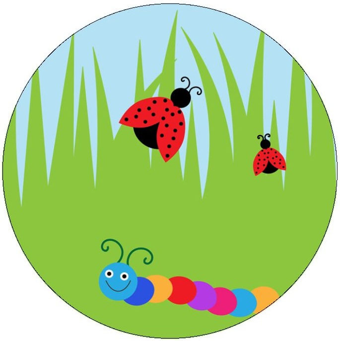 Insect Pinback Buttons and Stickers