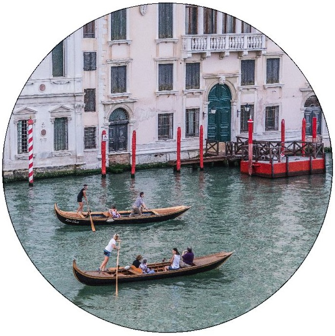 Venice Pinback Buttons and Stickers