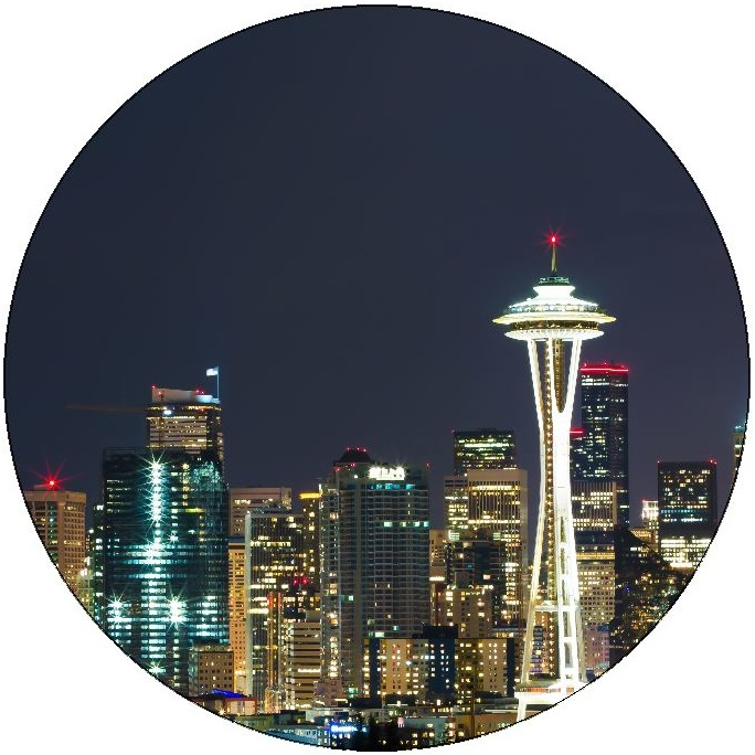 Seattle Pinback Button and Stickers