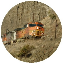 Train Pinback Buttons and Stickers