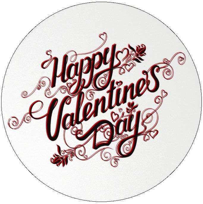 Valentine Pinback Buttons and Stickers