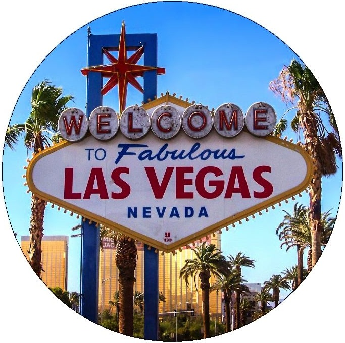 Las Vegas Pinback Buttons and Stickers