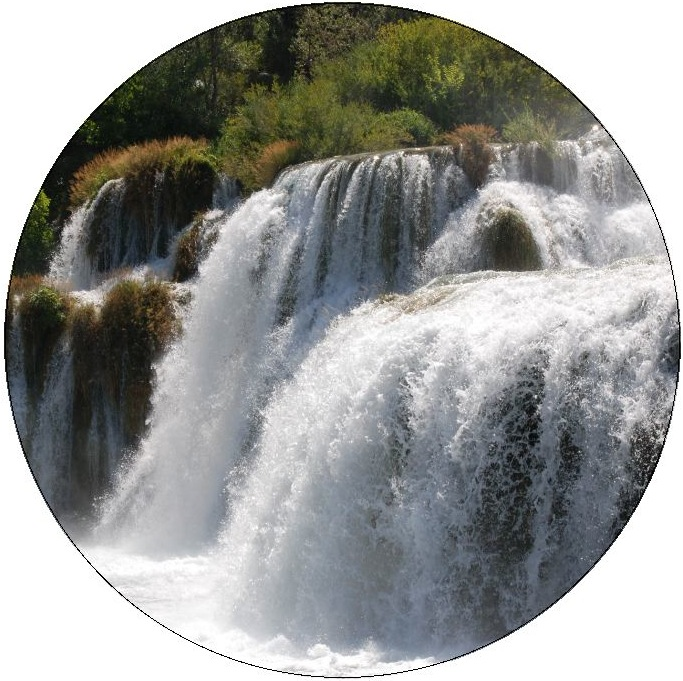 Waterfall Pinback Buttons and Stickers