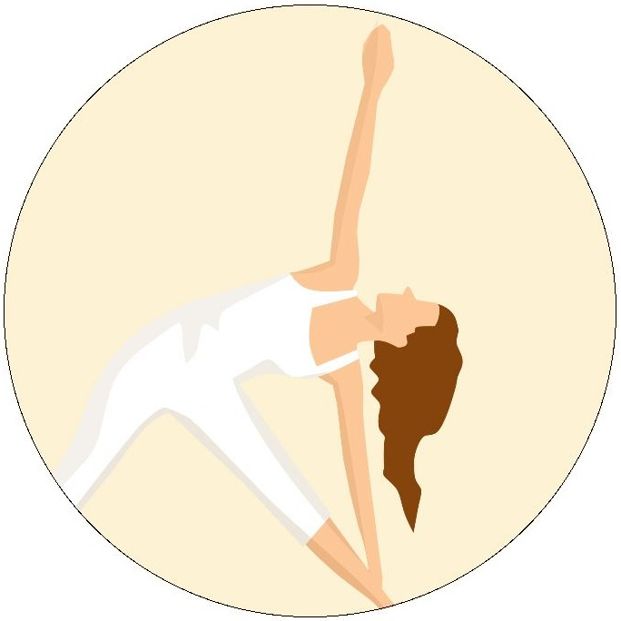 Yoga Pinback Buttons and Stickers